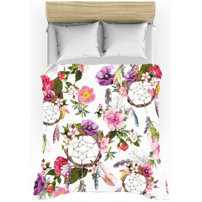 Blossoming Dream Catchers All-Over Print Duvet Cover