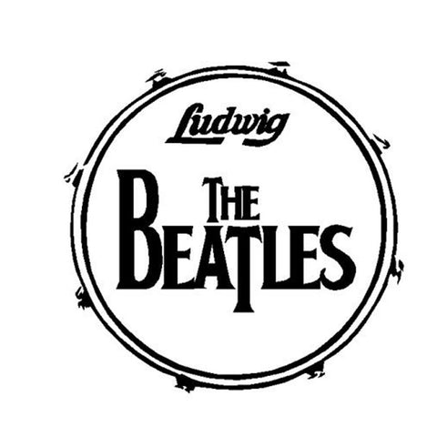 The Beatles Drum Wall Decal Sticker