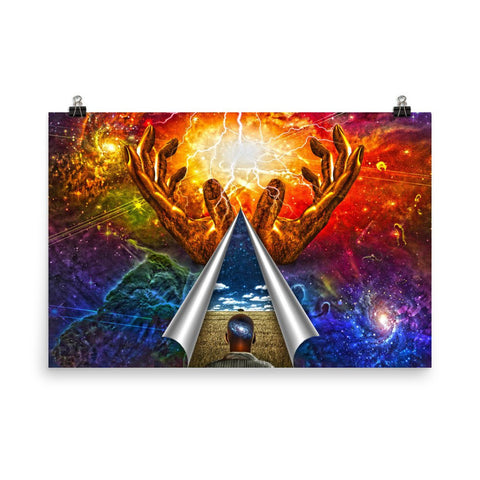 Mystery of Universe Enhanced Matte Wall Art Poster