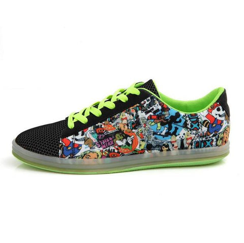 Mens Cool Graphic Sneakers