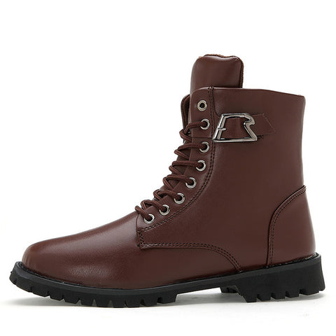 Mens Trendy High Top Boots