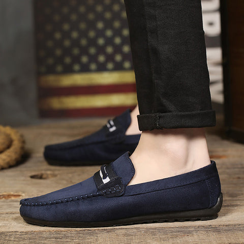 Mens Fashion Slip On Sneakers
