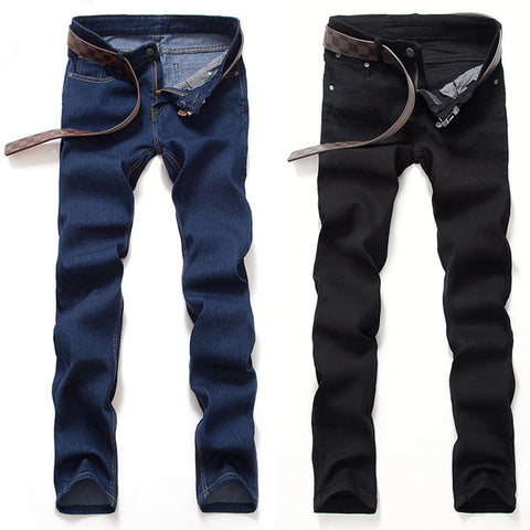 Mens Cool Slim Straight Jeans