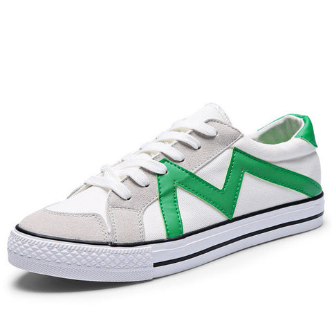 Mens Zig-Zag Design Sneakers