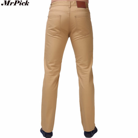 Mens Straight Casual Fashion Design Pants Jeans