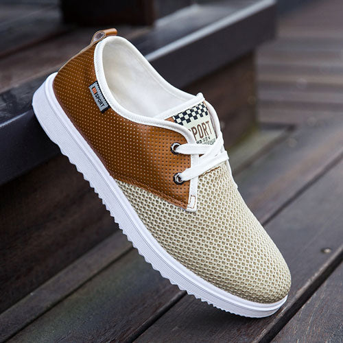 8ac189a9fb Mens Hot Summer Breathable Casual Fashion Soft Summer Cool Shoes ...