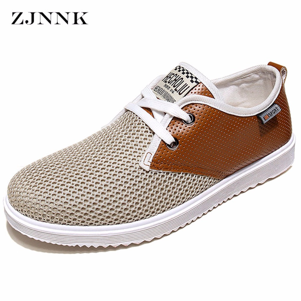 506905780b Mens Hot Summer Breathable Casual Fashion Soft Summer Cool Shoes – Mens  Fashion Factory