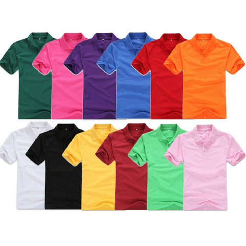 Mens Polo Shirt short Sleeve Tees summer style classic top