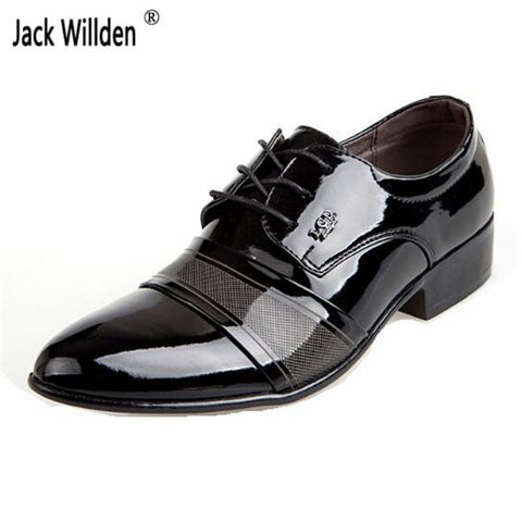 Mens Classical Dress Wedding Flats Luxury Business Oxfords