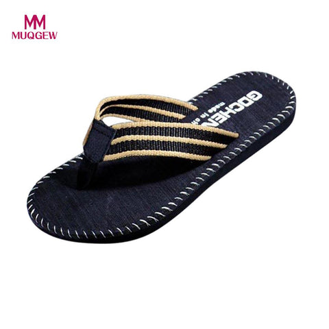 Mens New Summer Flip Flops Shoes Casual Beach Sandals