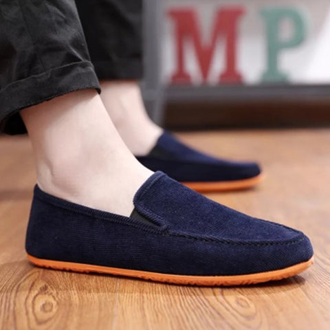 Mens Fashion Casual Shoes Lightweight Breathable Slip-on Summer Loafers