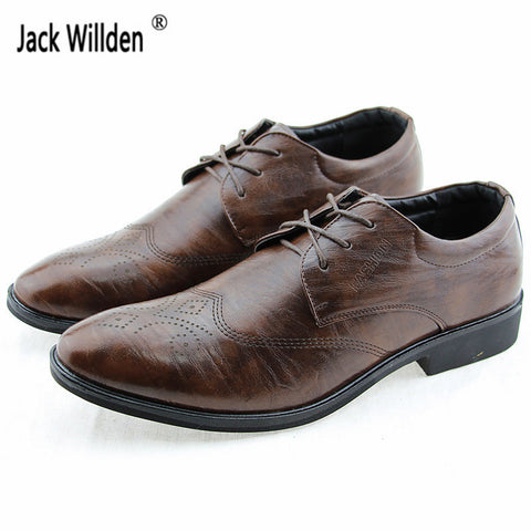 Mens Classical Fashion Dress Wedding Luxury Business Office Oxfords Casual Leather Derby Shoes