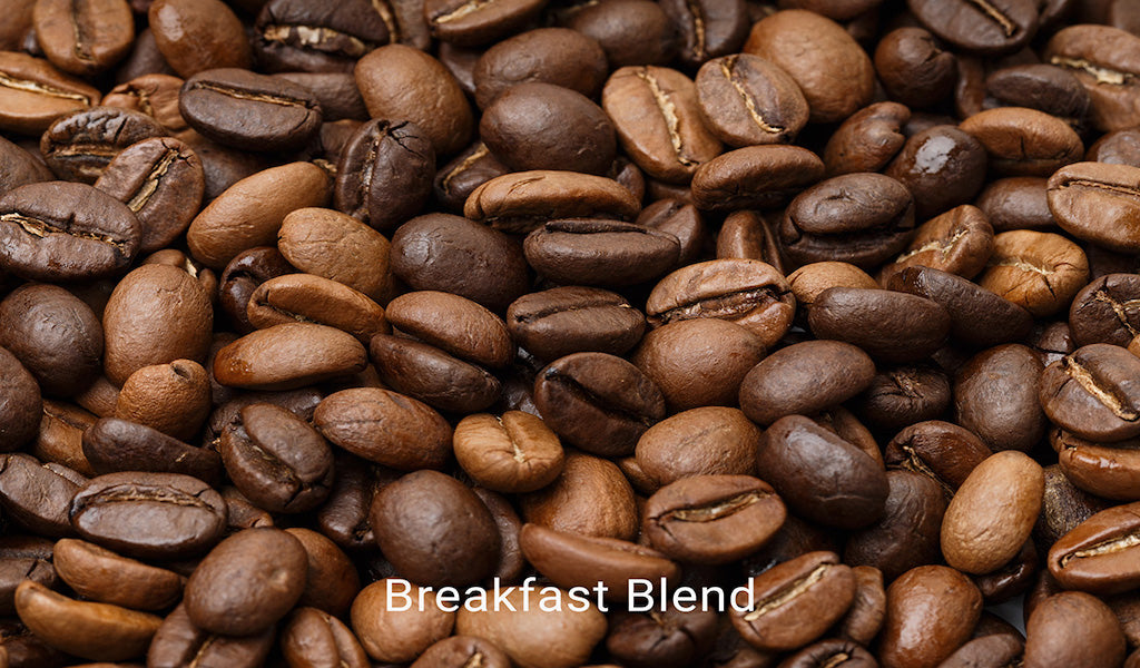 Organic, fair trade coffee, Breakfast Blend. Order online!