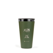 Load image into Gallery viewer, Café Mam olive green tumbler coffee mug
