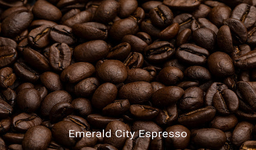 Organic, fair trade coffee, Emerald City Espresso. Order online!
