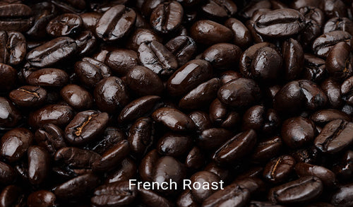 Organic, fair trade coffee, French Roast. Order online!