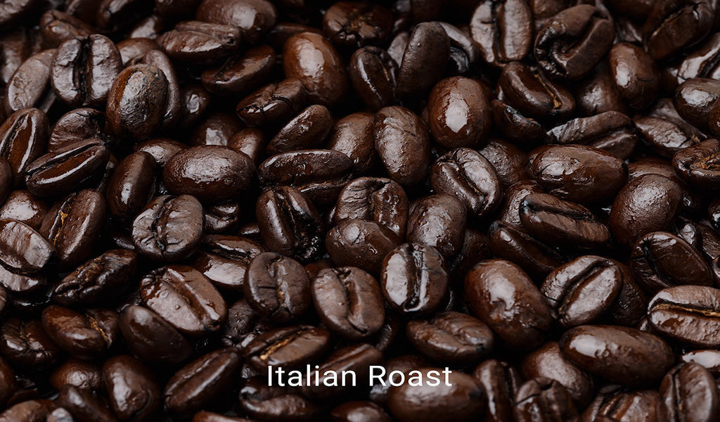 Organic, fair trade coffee, Italian Roast. Order online!