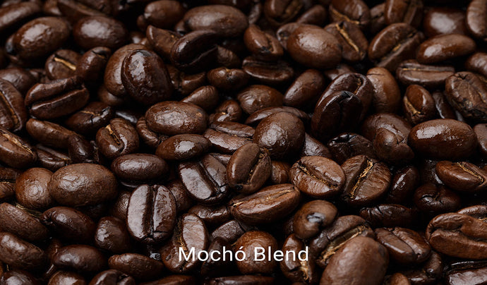 Organic, fair trade coffee, Mocho Blend. Order online!