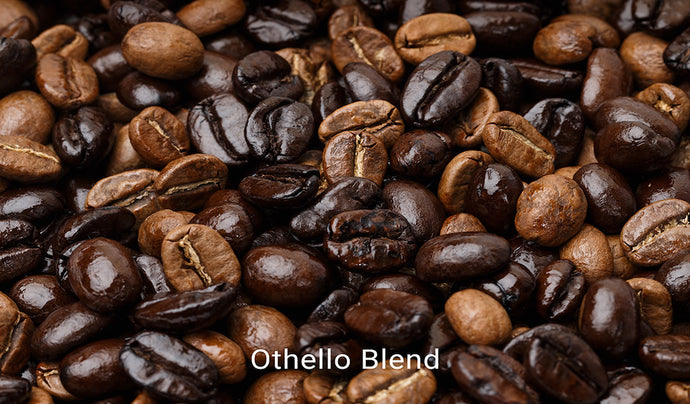 Organic, fair trade coffee, Othello Blend. Order online!