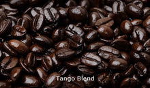 Load image into Gallery viewer, Organic, fair trade coffee, Tango Blend. Order online!