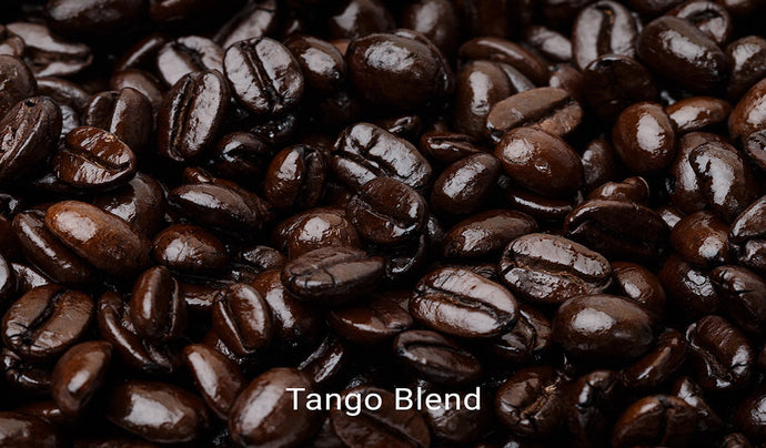 Organic, fair trade coffee, Tango Blend. Order online!