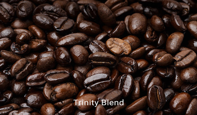 Organic, fair trade coffee, Trinity Blend. Order online!