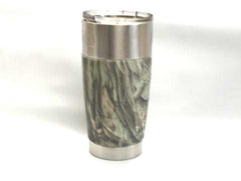 VIVA Tumbler 20 oz-best functionality with Light Camo sleeves.