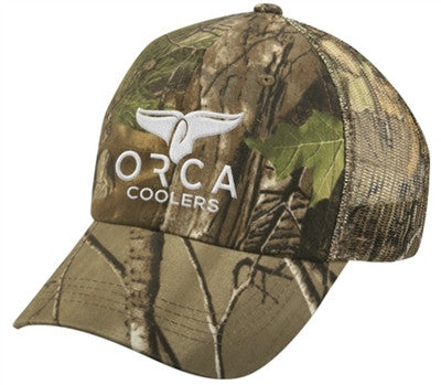 ORCA HAT LOW PROFILE TRUCKER REAL TREE