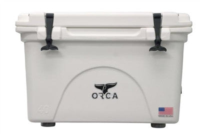 Orca 40 Quart Cooler White