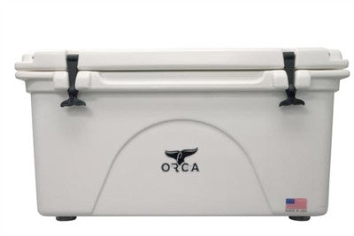 Orca 75 Quart Cooler White