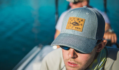 Permit in Mangroves Patch Trucker Hat