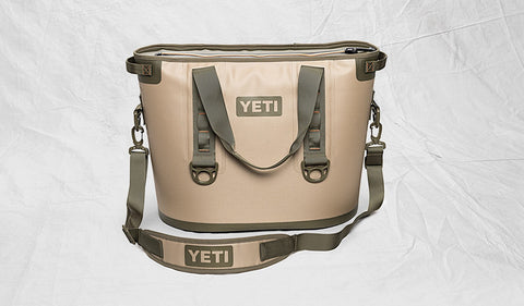 YETI Hopper 30 Cooler - Field Tan-Blaze Orange