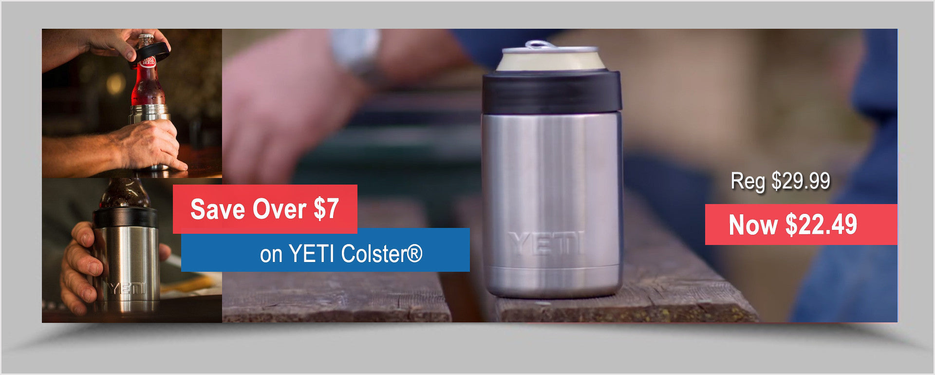 SAVE on YETI Colster