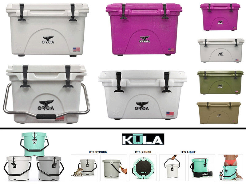 ORCA and KULA Coolers at VIVA Store