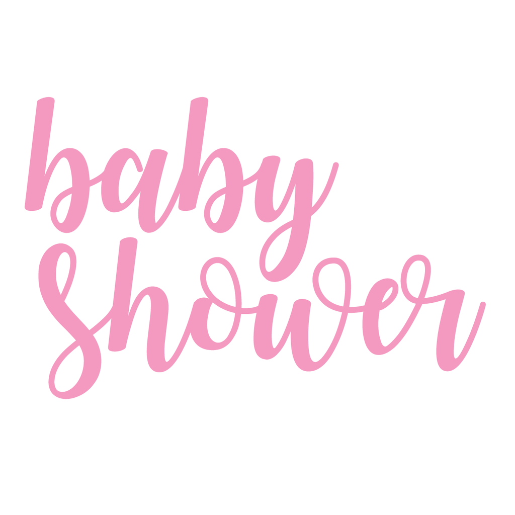 Baby Shower Font 1 Quantico Wall Art