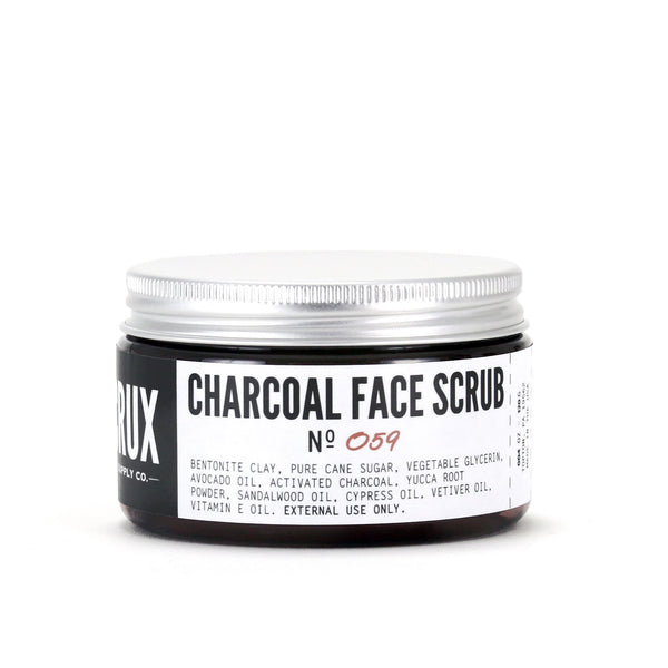 Crux Supply Co. Charcoal Face Scrub