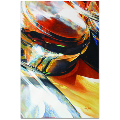 Wall Art Print-Pot Pourri-Abstract Art, Premium Canvas Gallery Wrap - Laurie Humble.com