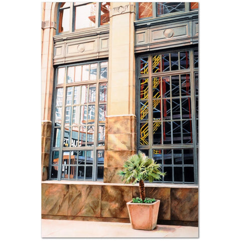 Wall Art Print on Canvas-Growth Panes, Premium Canvas Gallery Wrap - Laurie Humble.com