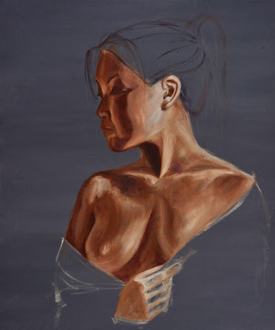 Oil Painting-Original-Figure Study 1, Original Oil Painting - Laurie Humble.com