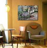Wall Art Print on Canvas-Taking A Gander, Premium Canvas Gallery Wrap - Laurie Humble.com