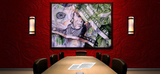 Wall Art Print on Canvas-Face Value, Premium Canvas Gallery Wrap - Laurie Humble.com