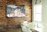 Wall Art Print on Canvas-Patio Patterns, Premium Canvas Gallery Wrap - Laurie Humble.com