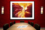 Wall Art Print-Abstract Art-Pyrogenics, Premium Canvas Gallery Wrap - Laurie Humble.com
