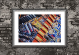 Wall Art Print on Canvas-Tools Of The Trade, Premium Canvas Gallery Wrap - Laurie Humble.com
