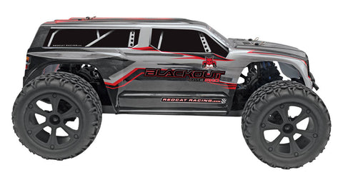 Redcat Blackout XTE PRO Truck 1/10 Scale Brushless Electric With 2.4GHz Remote - SILVER