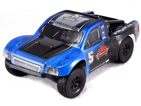 RedCat Aftershock 3.5 Desert Truck 1/8 Scale Nitro (With 2.4GHz Remote Ctrl.)- BLUE / BLACK
