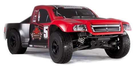 RedCat Aftershock 3.5 Desert Truck 1/8 Scale Nitro (With 2.4GHz Remote Ctrl.)- RED / BLACK
