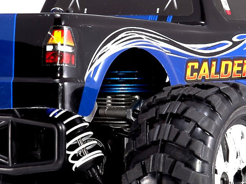 Caldera 3.0 1/10 Nitro Gas RC Truck 4WD 2 SPD-New-$30 Free Starter Kit-Blue