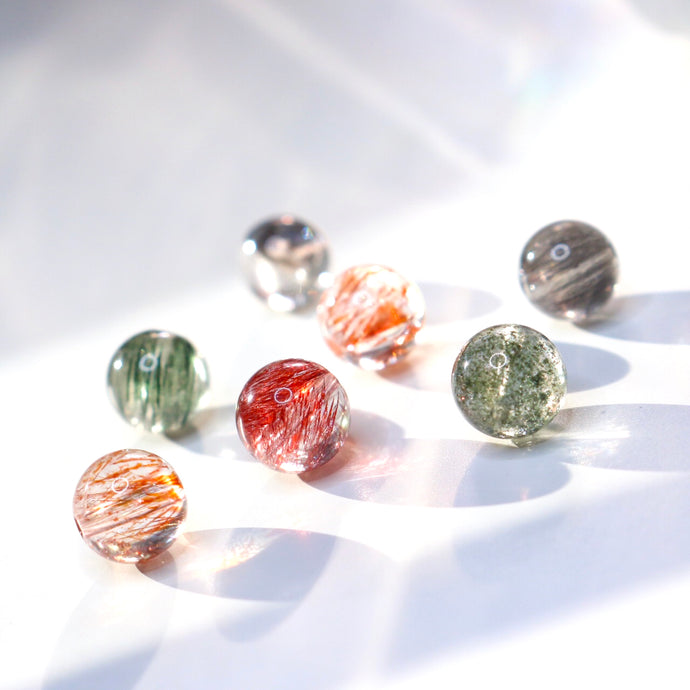 CatstoneNYC Customized Gemstone - Multi-Beads Duobao Earrings - Catstone NYC