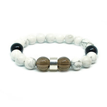 Load image into Gallery viewer, CatstoneNYC White Turquoise Bracelet for Men - Catstone NYC